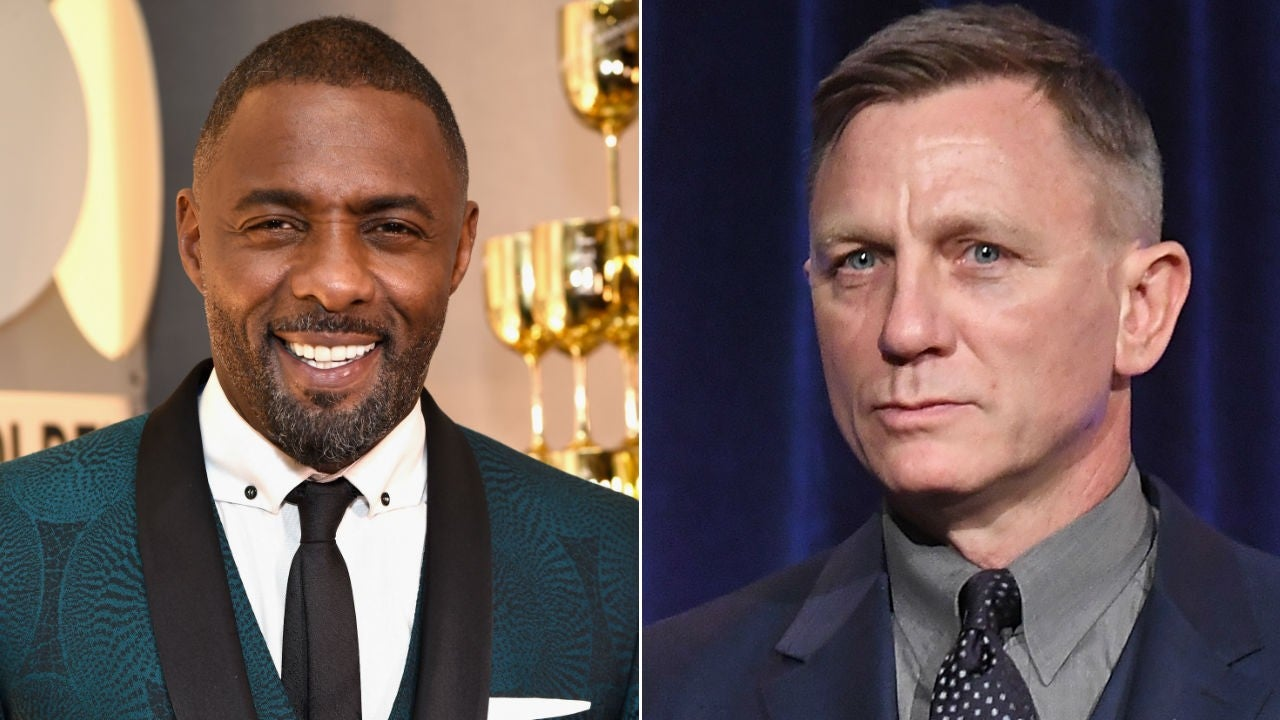 cde3949f107 Idris Elba Posts  Awks  Photo With Daniel Craig at the Golden Globes Amid James  Bond Rumors