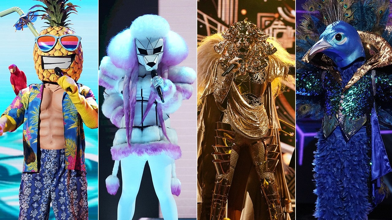 Masked singer spoilers who is peacock