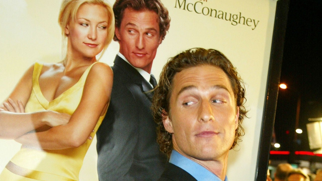 Matthew McConaughey Rates His Top Rom Coms From Best to ...