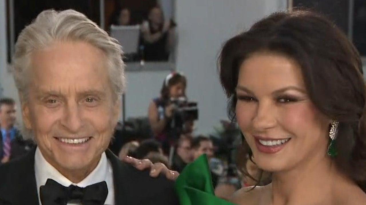 Michael Douglas Gushes Over 'Angel' Wife Catherine Zeta-Jones (Exclusive)