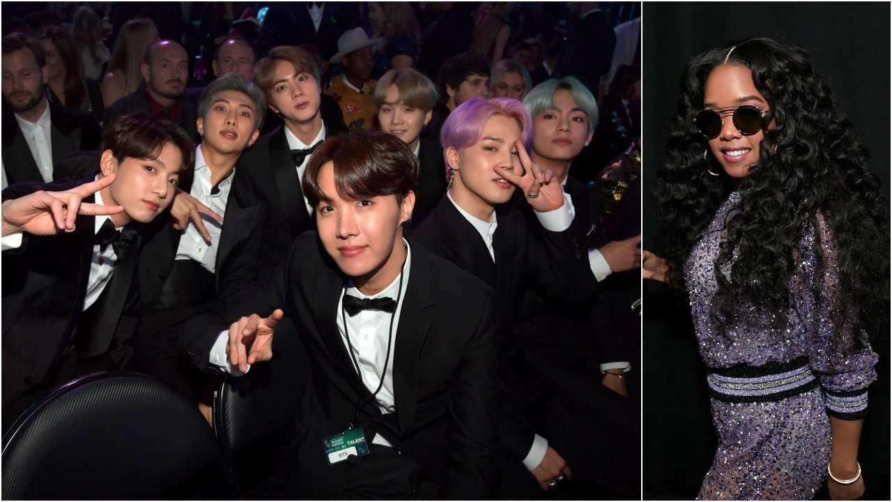 Grammy 2019 Bts: BTS Presents Best R&B Album To H.E.R. At 2019 GRAMMY