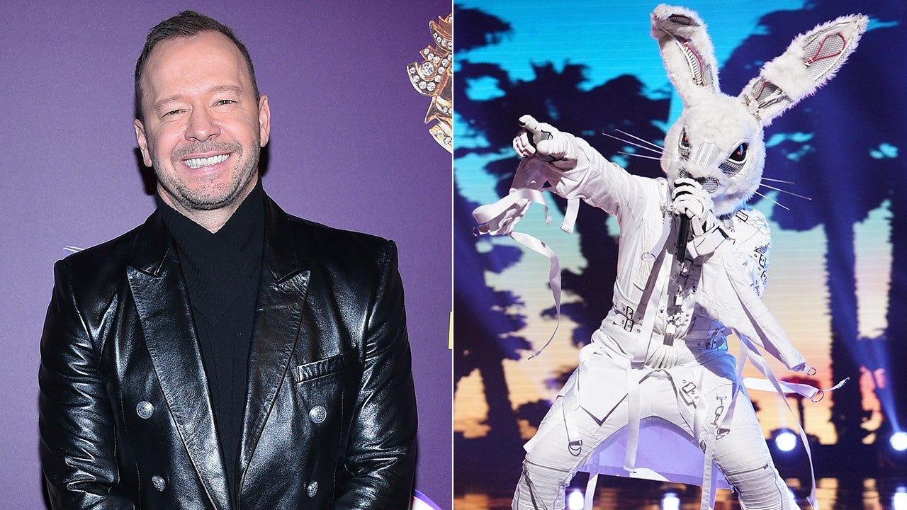 Donnie Wahlberg on Rumors He's The Rabbit on 'The Masked Singer'