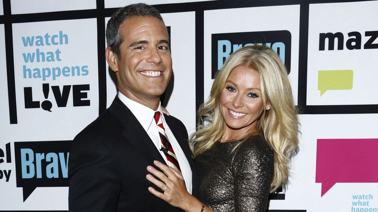 Kelly Ripa Gets Emotional While Talking About Andy Cohen S