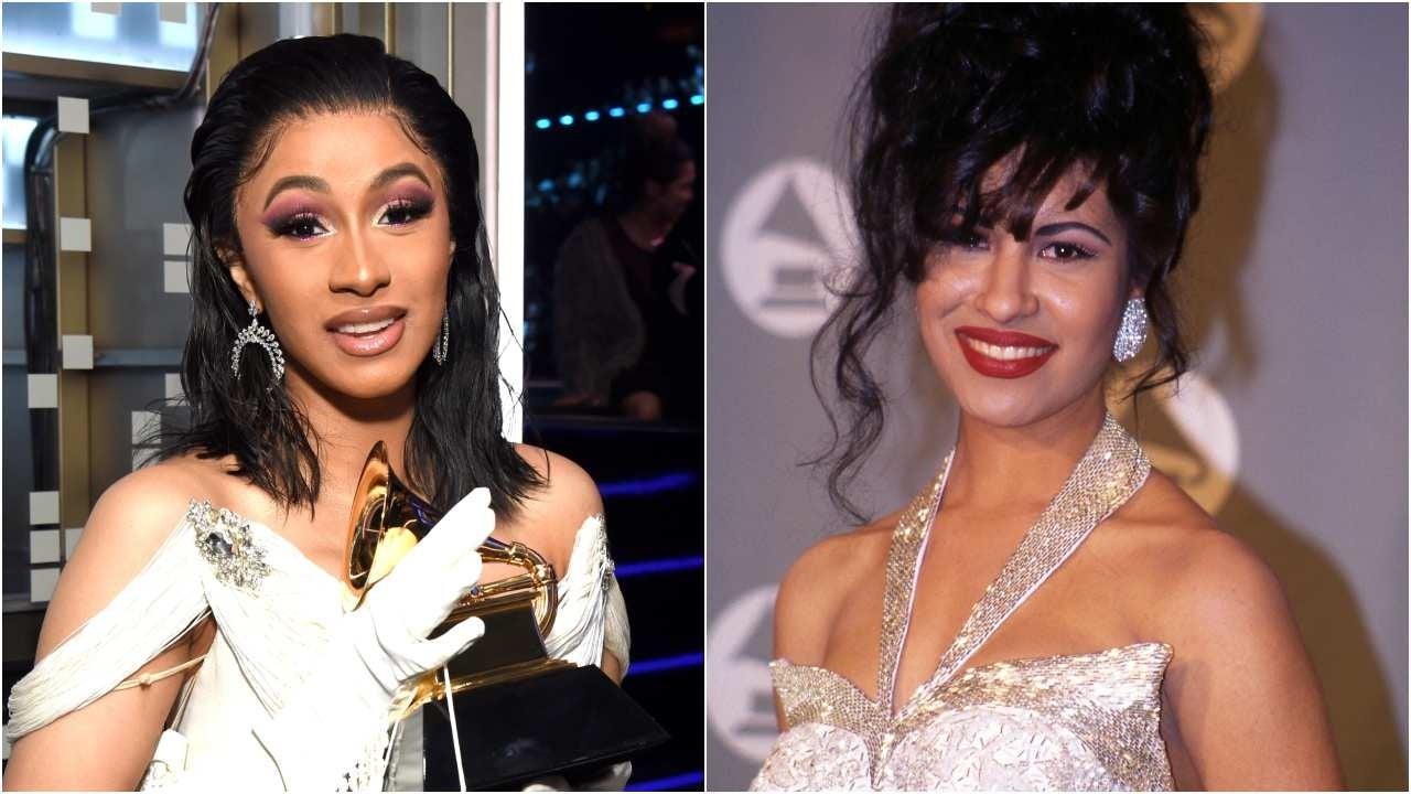 Cardi B Look Alike: Cardi B Gives Thanks To Selena Quintanilla As She Beats