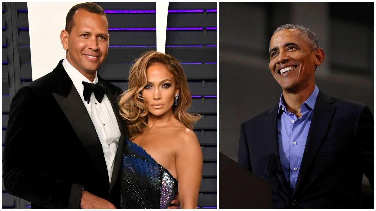 J.Lo & A-Rod Receive Letter From Barack Obama After Engagement