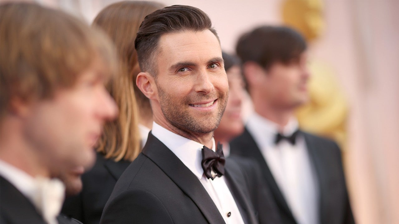 Adam Levine Gets Massive Tattoo on His Right Leg That Took 13 Hours