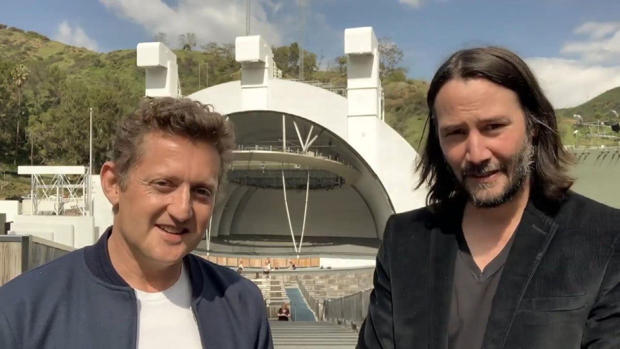 Watch Keanu Reeves & Alex Winter's Message to Grads at 'Bill & Ted' HS