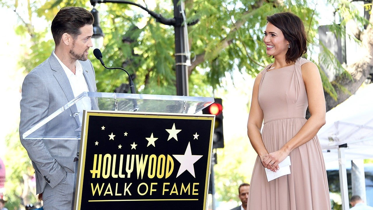 b901090812e Mandy Moore's 'A Walk to Remember' Co-Star Shane West Honors Her at  Hollywood Walk of Fame Ceremony | Entertainment Tonight