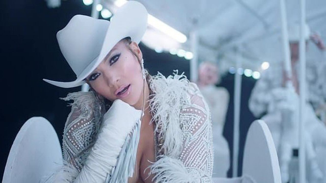 Jennifer Lopez Is Part Of A Super Sexy Carnival In Medicine Music Video -3236
