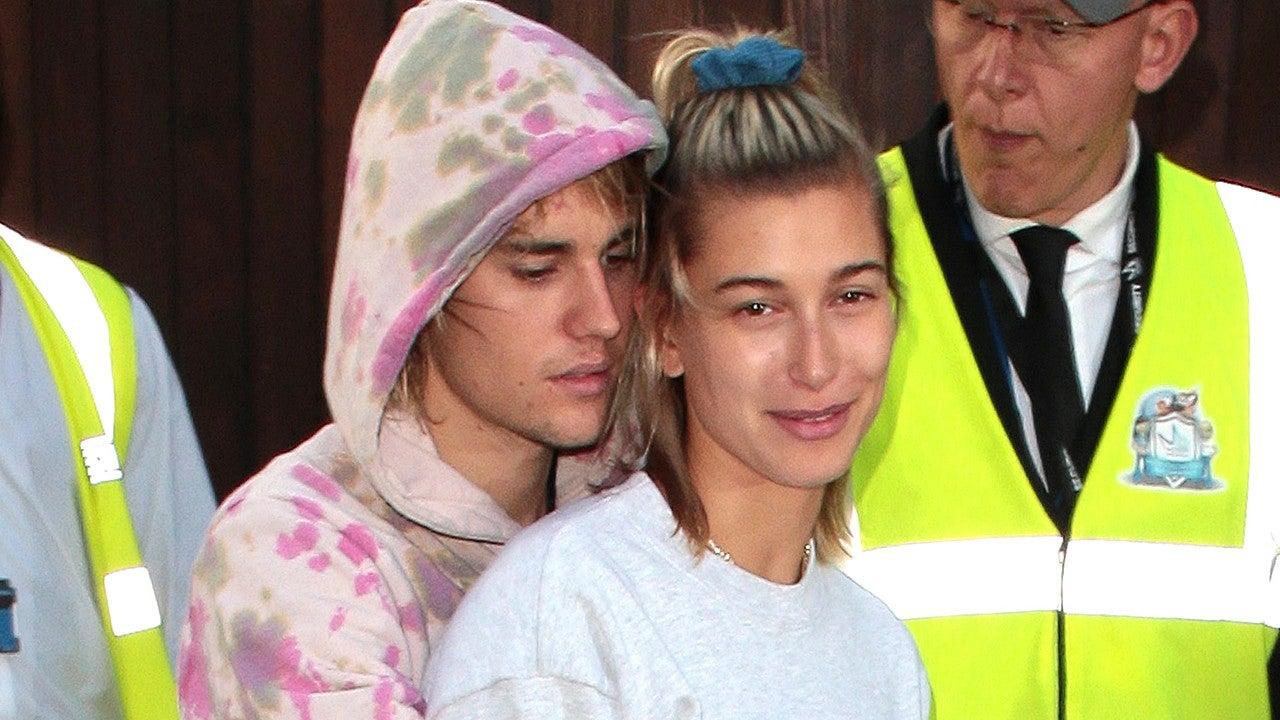 Hailey Bieber Celebrates 1-Year Wedding Anniversary With Justin Bieber