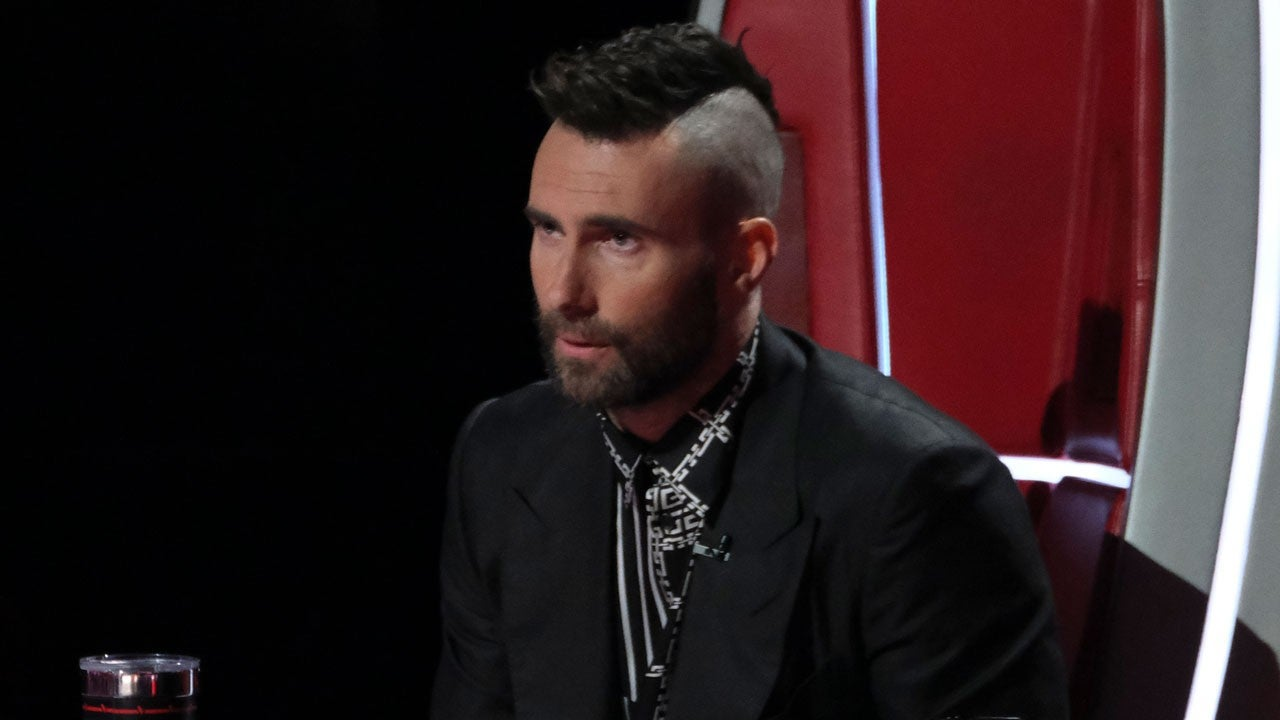 Adam Levine Debuts New Mohawk On The Voice And Fans Are Divided Entertainment Tonight