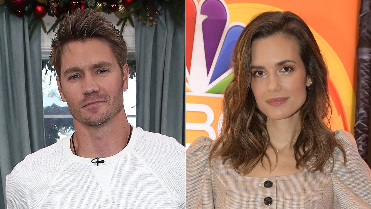 'One Tree Hill's' Chad Michael Murray and Torrey DeVitto Reunite for Hallmark Christmas Movie (Exclusive)