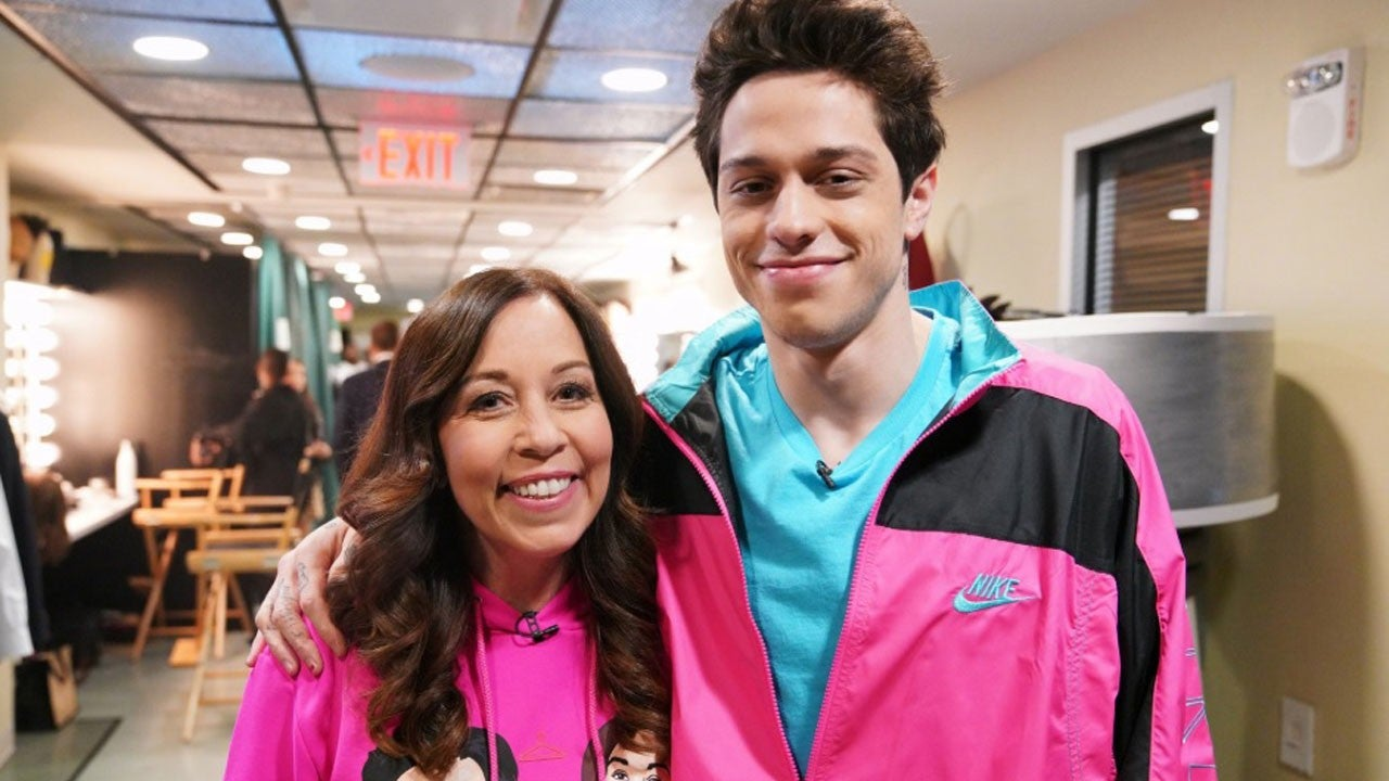 Pete Davidson Got His Mom the Perfect Mother's Day Gift: Jon Hamm
