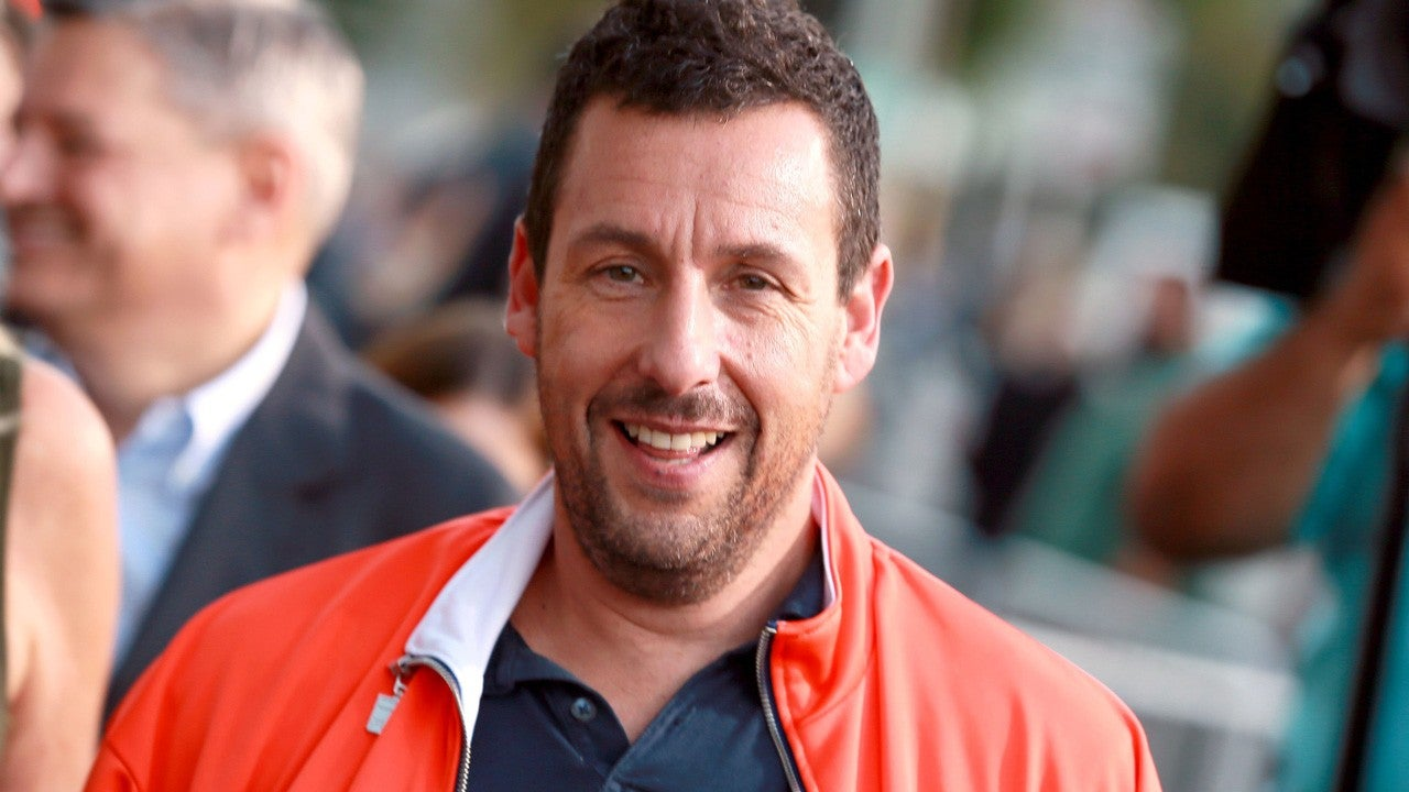 Adam Sandler's Daughter Crashes His 'Jimmy Kimmel Live' Interview to Explain Grooming Accident