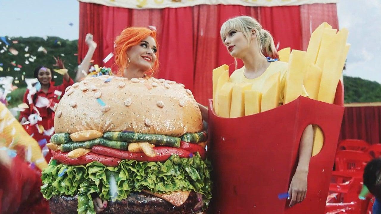 Katy Perry di video klip terbaru Taylor Swift,