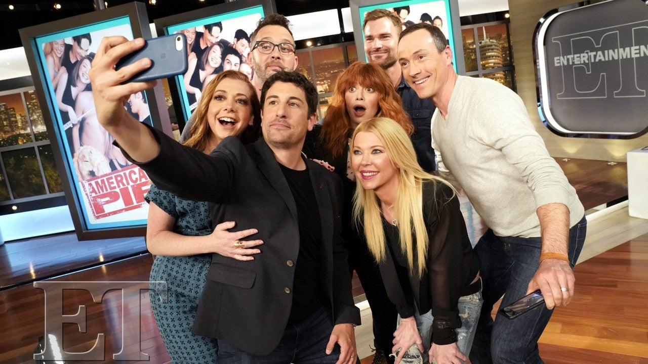 'American Pie' Cast Reunites on ET 20 Years Later