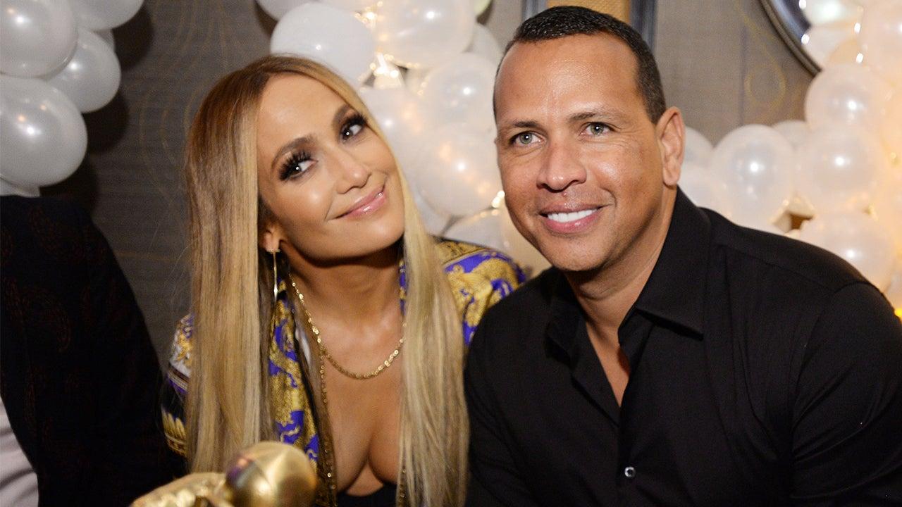 Jennifer Lopez Crashes ESPN to Give Alex Rodriguez the Sweetest Birthday Surprise