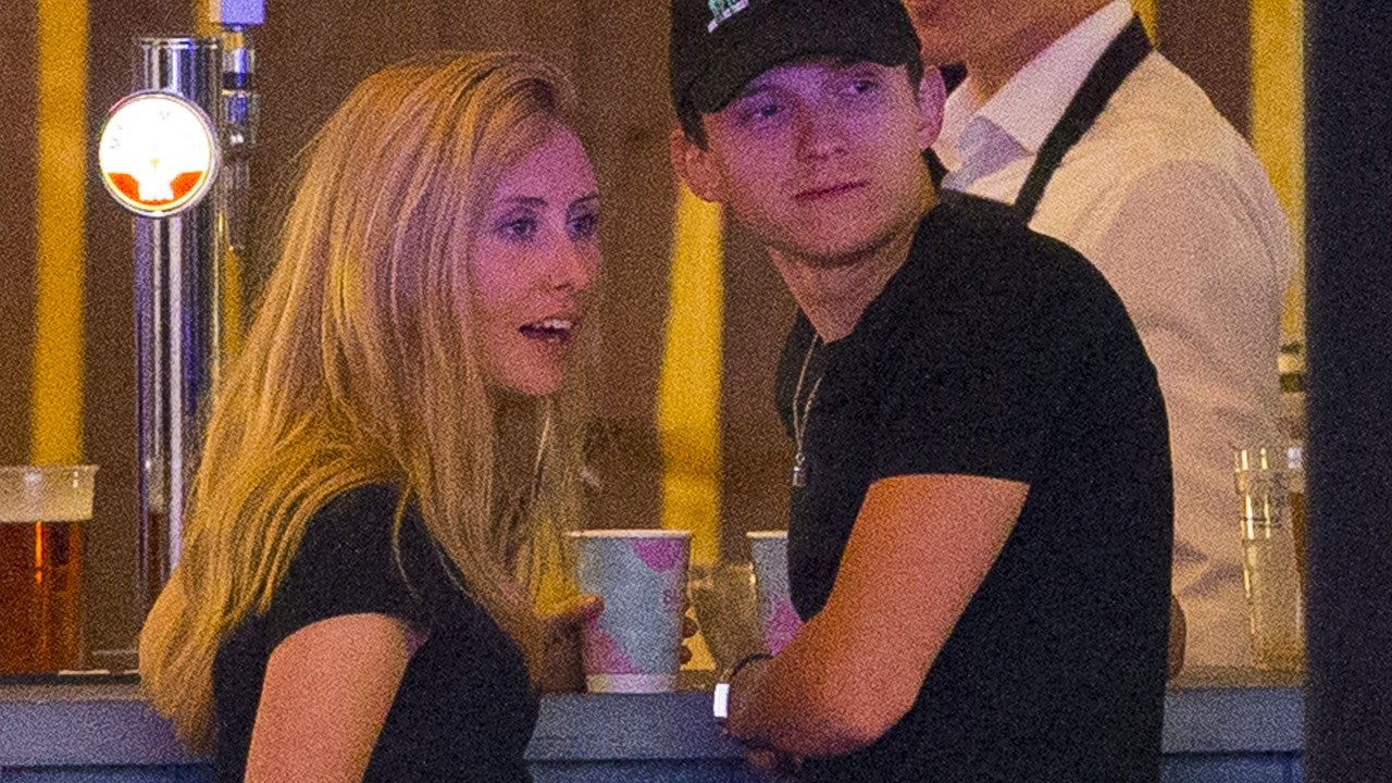 Tom Holland Packs on PDA With Mystery Woman in London ...