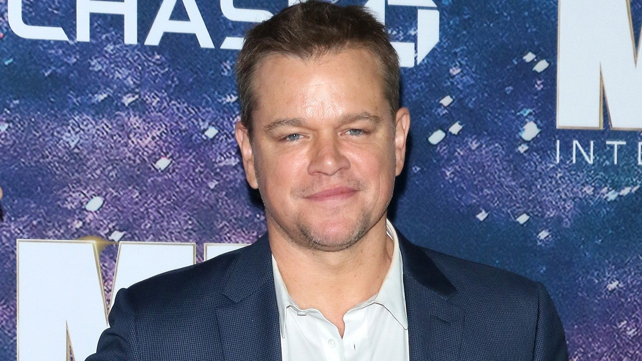 Matt Damon Gets New Ta...