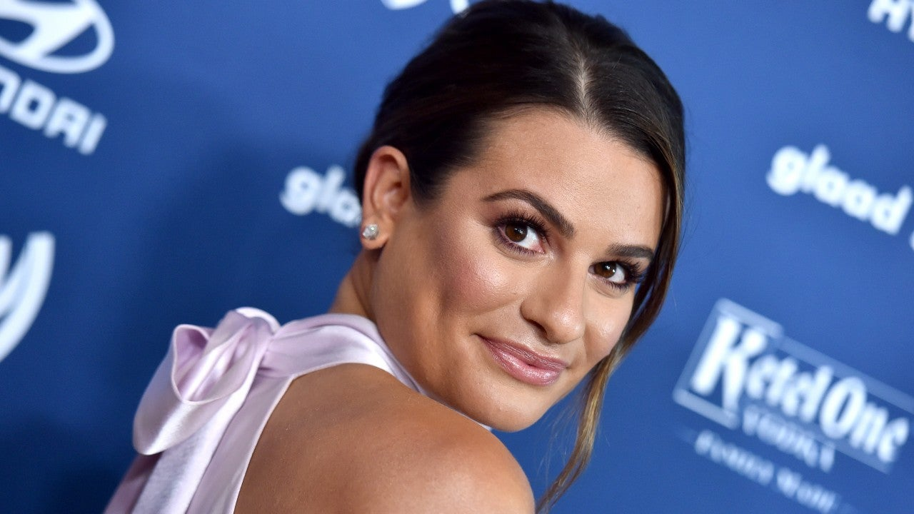 Lea Michele Shows Her Postpartum Hair Loss After Welcoming Son - Entertainment Tonight