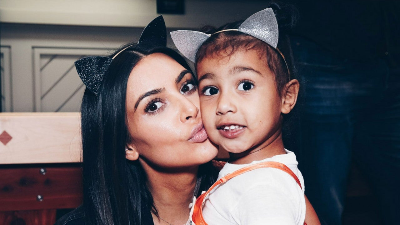 Kim Kardashian dan anaknya