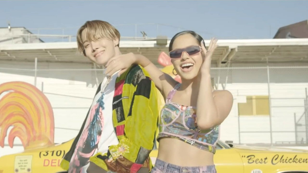 BTS' J-Hope and Becky G Release 'Chicken Noodle Soup' Video