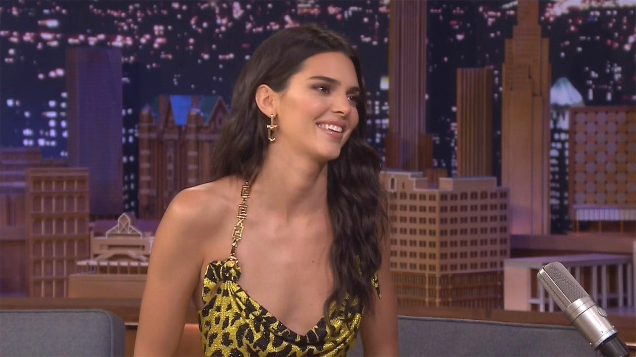 Why Kendall Jenner Ran Away From Brad Pitt at Kanye's Sunday Service
