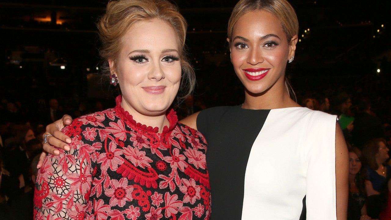 Adele Praises Beyoncé's 'Black Is King' as She Copies Singer's Outfit