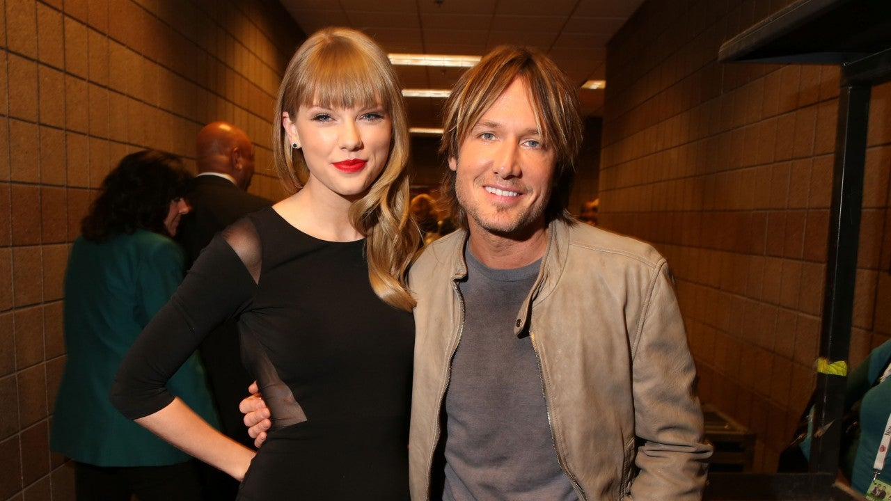 Watch Keith Urban Cover Taylor Swift's 'Lover' and See Her Response! - Entertainment Tonight