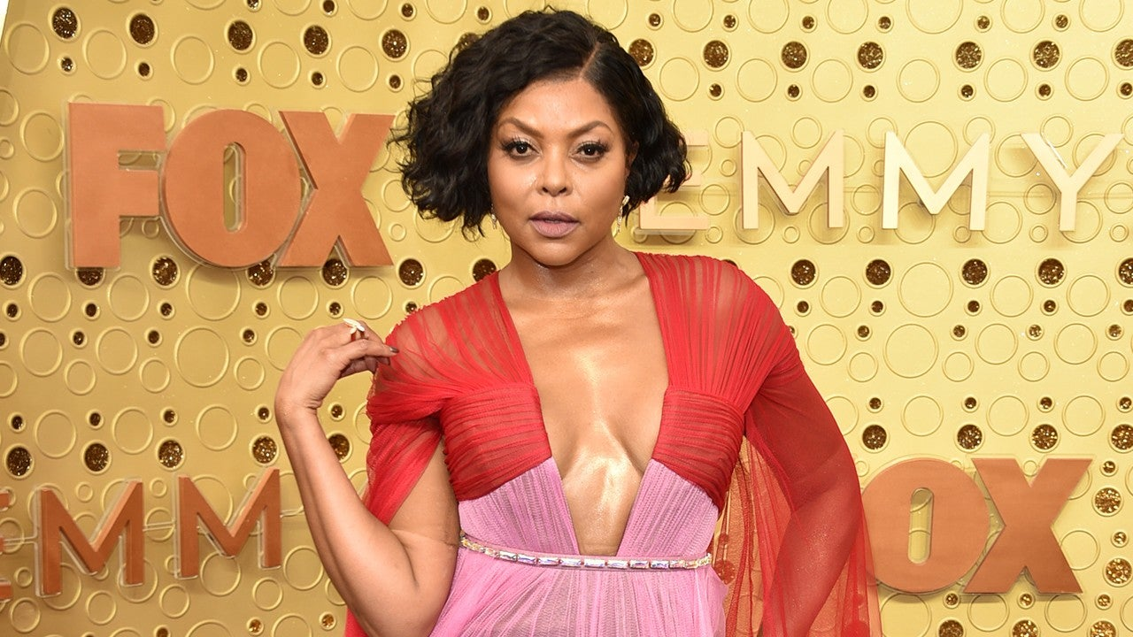 Taraji P. Henson Is Her Own Glam Squad While Quarantining