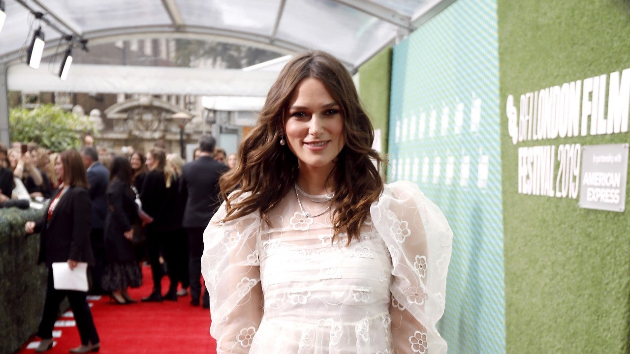 Keira Knightley Wows on Red Carpet 6 Weeks After Giving ...
