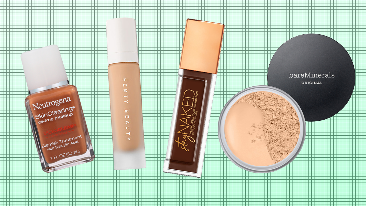 The Best Foundation for Oily Skin -- Tarte, Dior, Fenty Beauty & More