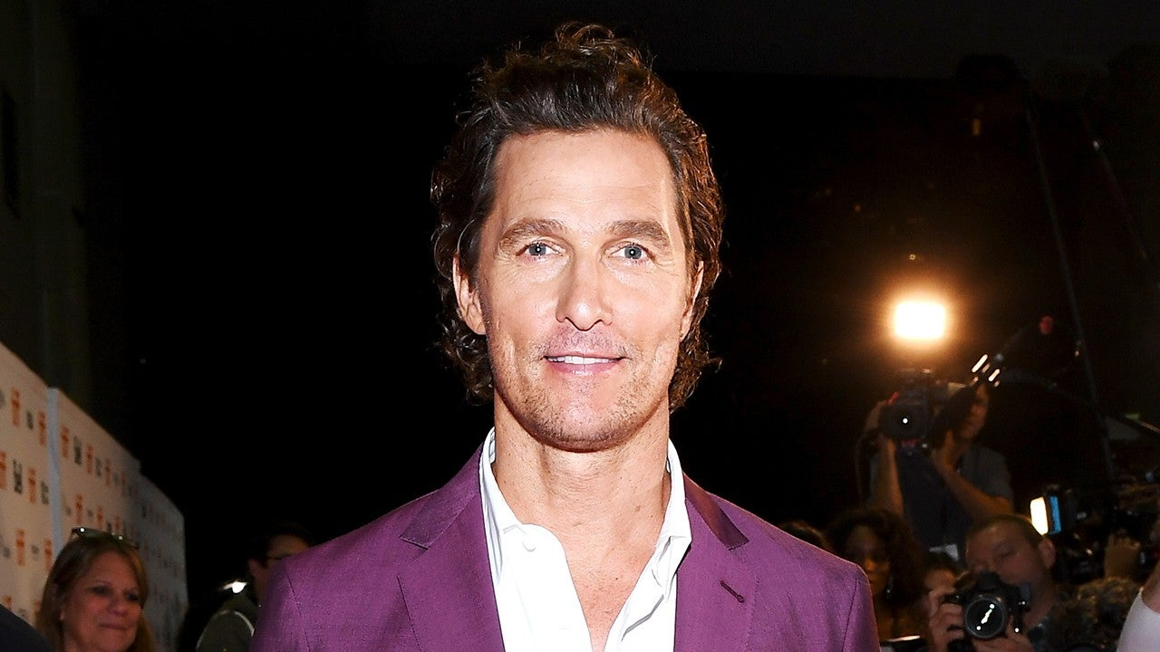 Matthew McConaughey's 12-Year-Old Son Looks Just Like His Dad in Pic