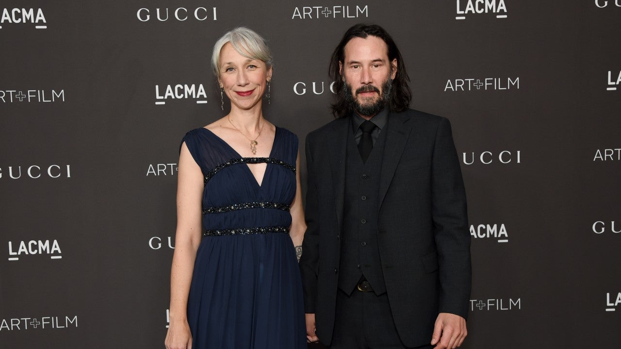 Keanu Reeves Adorably Holds Hands with Alexandra Grant
