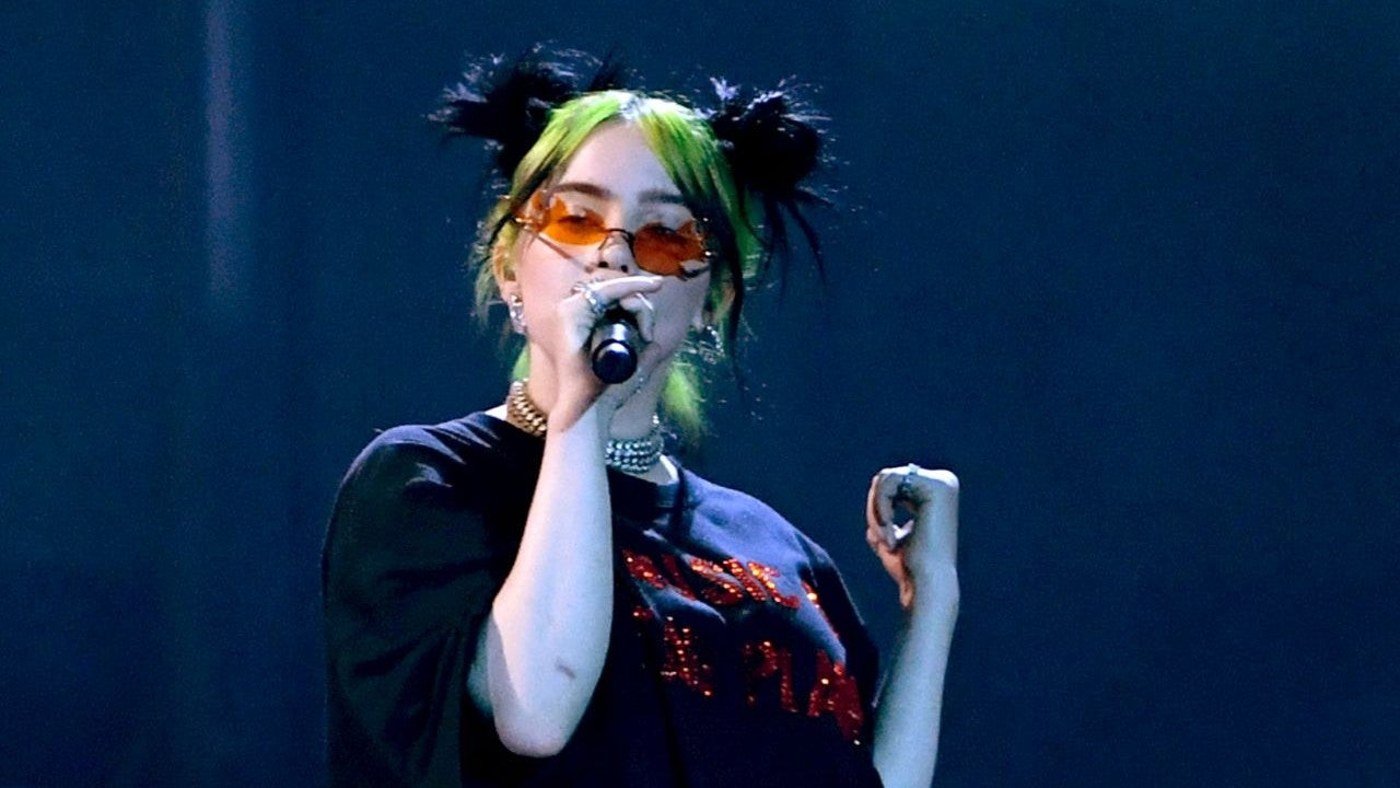 Billie Eilish Delivers First Ever Awards Show Performance