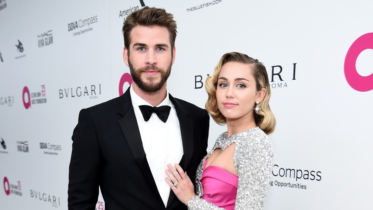 Miley Cyrus and Liam Hemsworth Spotted at Same Party Weeks After Finalizing Divorce