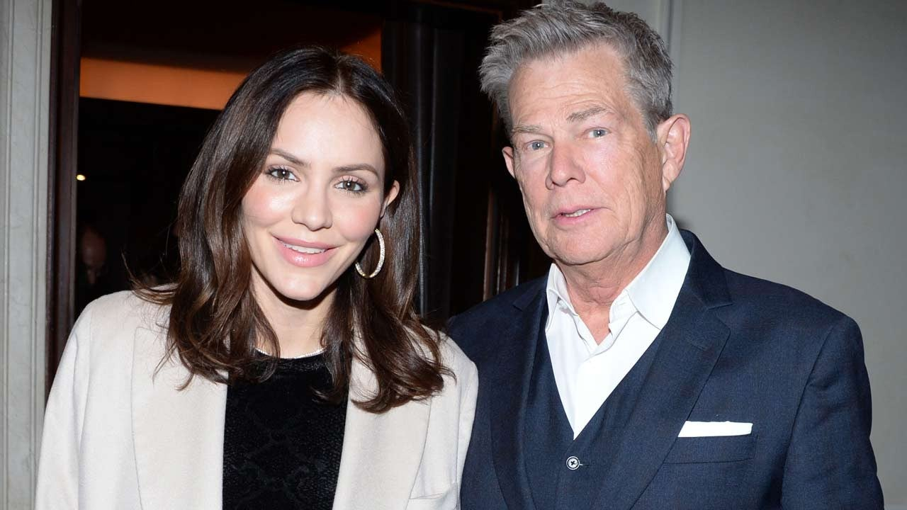 David Foster Gushes Over Wife Katharine Mcphee She S The Whole Package Exclusive Entertainment Tonight
