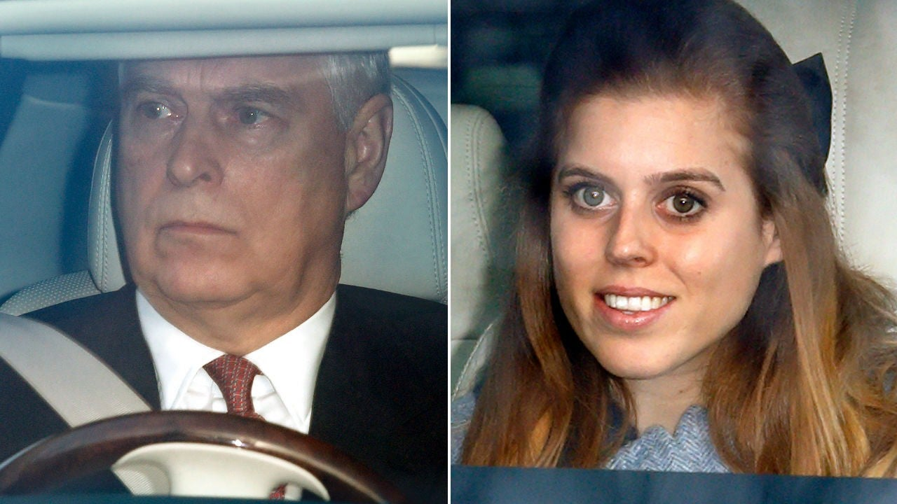 Prince Andrew Did Not Attend Daughter Princess Beatrice S Star