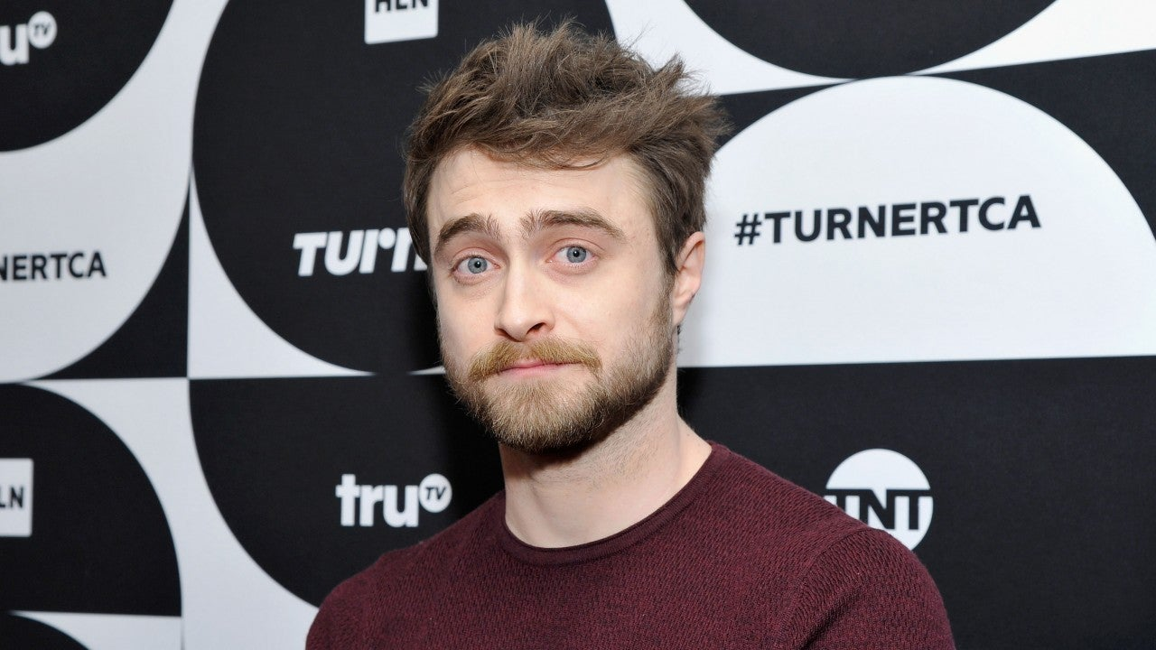 Daniel radcliffe with his shirt off