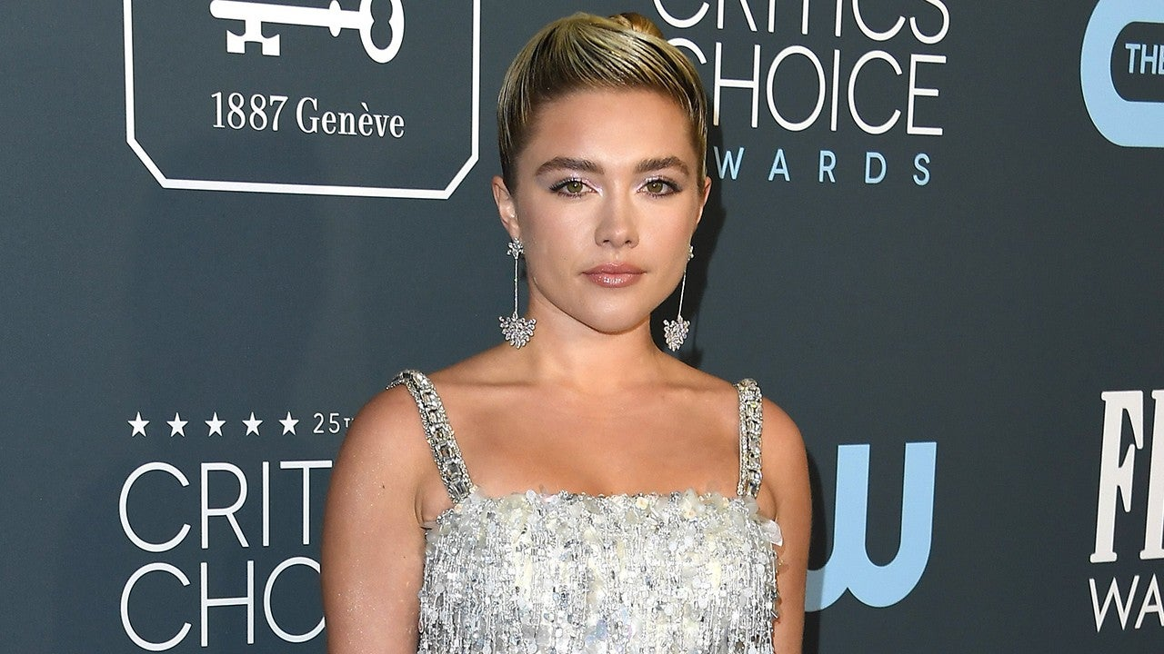 2020 Critics Choice Awards Best Dressed Celebs Florence Pugh J Lo Billy Porter And More Entertainment Tonight