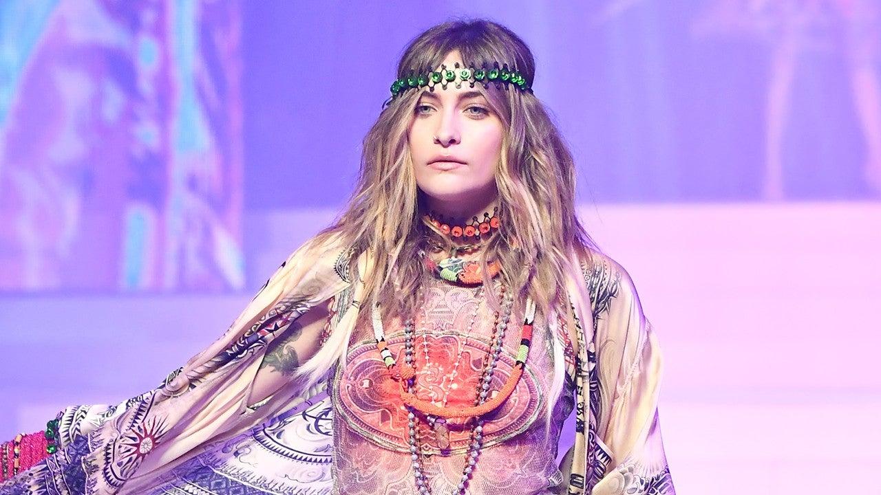Paris Jackson Is a '70s Boho Queen Walking in Designer Jean Paul Gaultier's Last Fashion Show