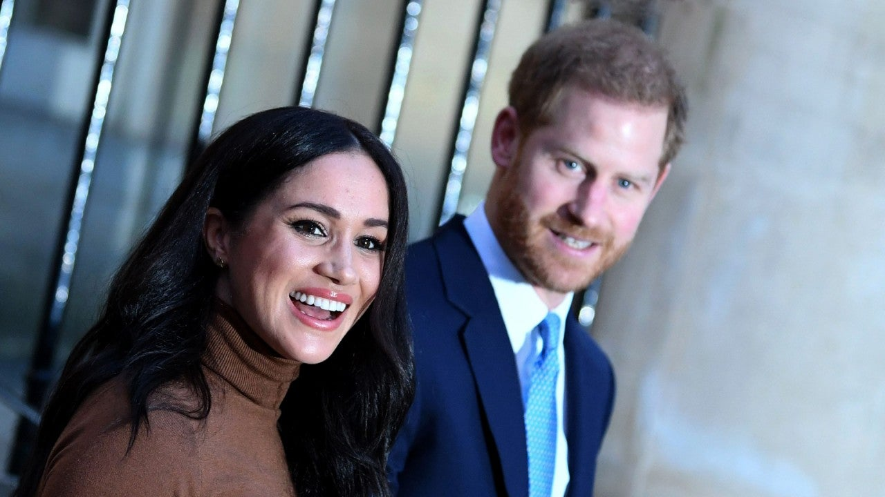 Meghan Markle & Prince Harry Seen for the First Time Since Royal Exit