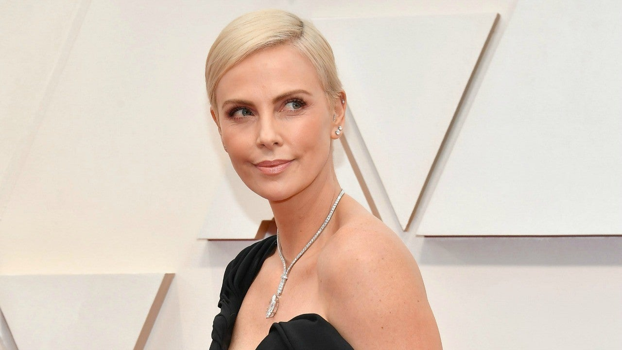 Charlize Theron Shares a Throwback Video of Herself Shaving Her Head for 'Mad Max: Fury Road'