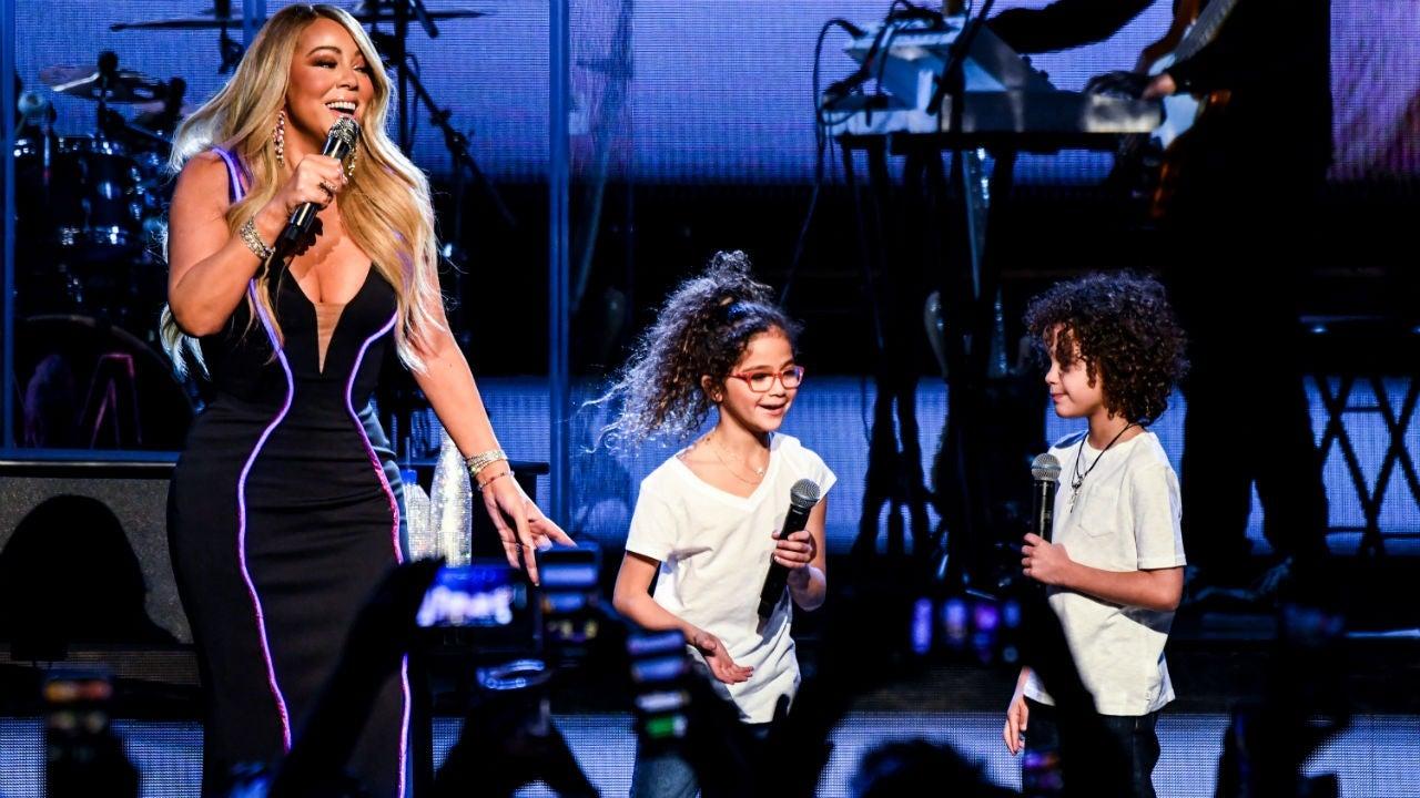 Mariah Carey Helps Daughter Hit the High Note in TikTok Video