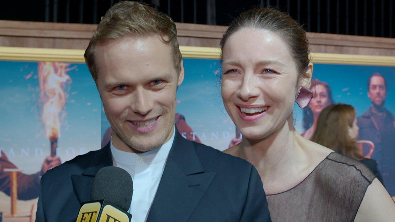 'Outlander' Stars Spill Secrets in Wedding-Themed Game! (Exclusive)