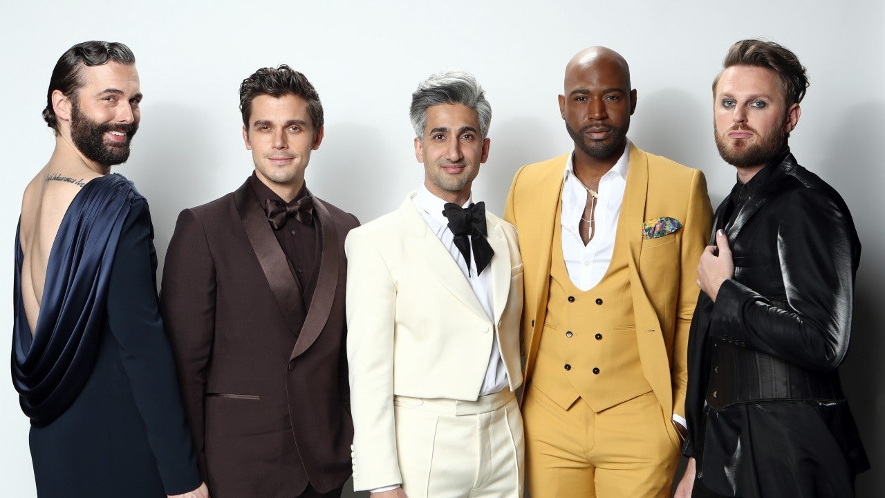 'Queer Eye' Cast Slays With Dapper Outfits for 2020 Oscars Party