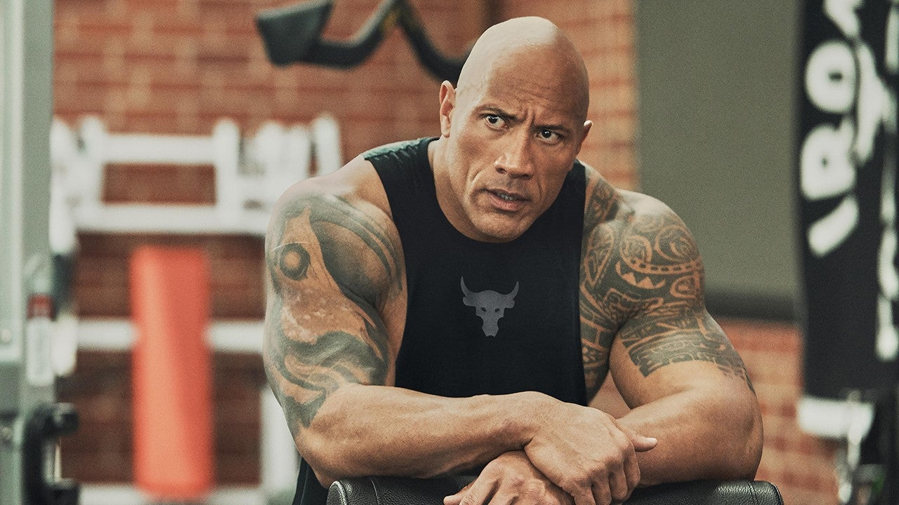 Dwayne 'The Rock' Johnson Launches Collection with Major Activewear Brand    Entertainment Tonight