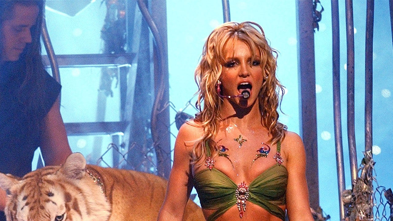 Britney Spears Throwback Pics With 'Tiger King' Star Doc Antle Surface