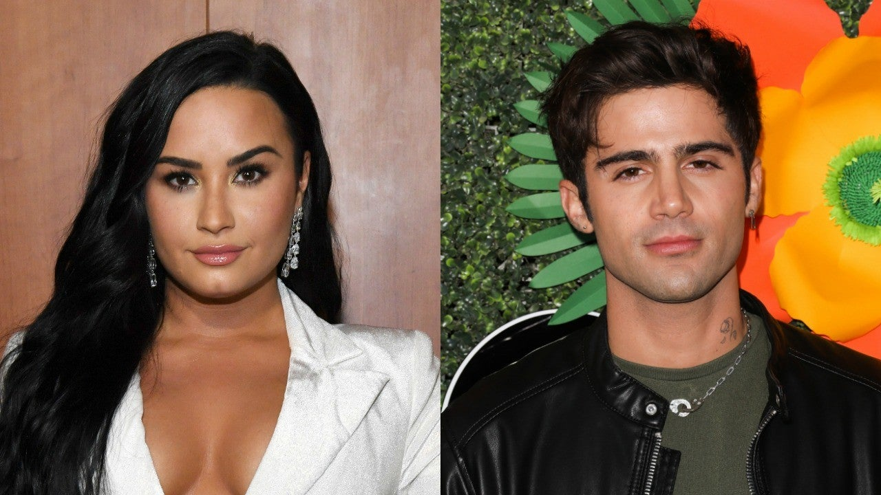 Demi Lovato and Max Ehrich Are So in Love in Beachside PDA-Filled Pic