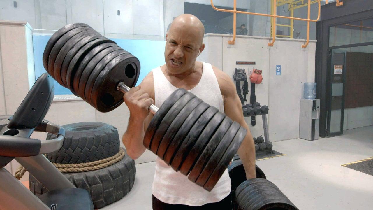 Inside Vin Diesel's Intense 'Bloodshot' Workout (Exclusive)